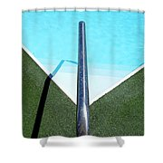 New Orleans Rooftop Pool Shower Curtain