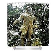 New Orleans Statues 1 Shower Curtain