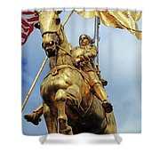 New Orleans Statues 13 Shower Curtain