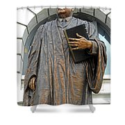 New Orleans Statues 5 Shower Curtain