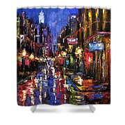 New Orleans Storm Shower Curtain