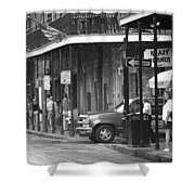 New Orleans Street Photography 2 Shower Curtain