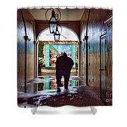New Orleans Street Photography Shower Curtain