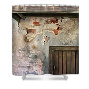 New Orleans Wall Shower Curtain