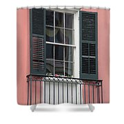 New Orleans Windows 4 Shower Curtain
