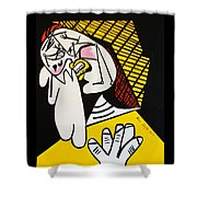 New Picasso The Weeper 2 Shower Curtain