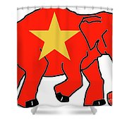 New Republican Party Shower Curtain