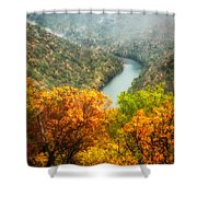 New River Gorge Wv Shower Curtain