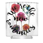 New Romantics Shower Curtain