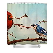 New Buds Of Spring Shower Curtain