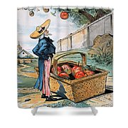 New Territories Cartoon Shower Curtain
