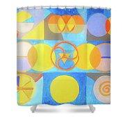 Geometrica 1 Shower Curtain