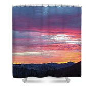 New Year Dawn - 2016 December 31 Shower Curtain by D K Wall