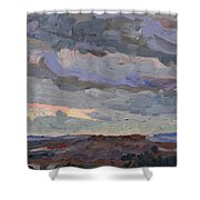 New Year Stratocumulus Shower Curtain