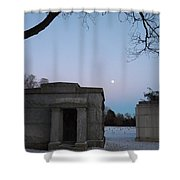 New Year's Eve Tranquility  Shower Curtain