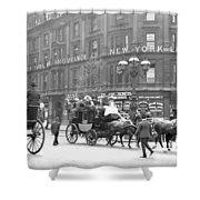 New York 1898 Shower Curtain