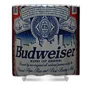 New York Bud Shower Curtain