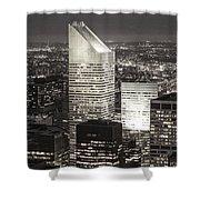 New York Citigroup Center  Shower Curtain