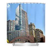 New York City Architecture Shower Curtain