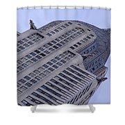 New York City - Chrysler Building 002 Shower Curtain