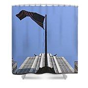 New York City - Chrysler Building 003 Shower Curtain