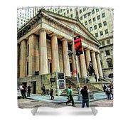 New York City Federal Hall Shower Curtain
