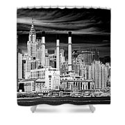 New York City Shower Curtain by Ken Barrett