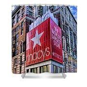 New York City Macy's Herald Square Store Shower Curtain