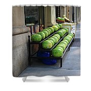 New York City Market Shower Curtain