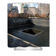 New York City National September 11 Memorial Shower Curtain