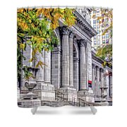 New York City Public Library Shower Curtain