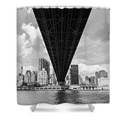 New York City - Queensboro Bridge Shower Curtain