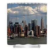 New York City Skyline 4 Shower Curtain
