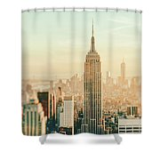 New York City - Skyline Dream Shower Curtain