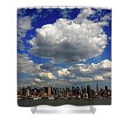 New York City Skyline Shower Curtain