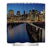 New York City - Skyline Shower Curtain