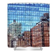 New York City Skyscraper Art 4 Shower Curtain