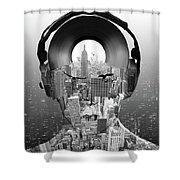 New York City Sound Shower Curtain