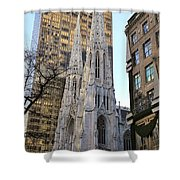 New York City St. Patrick's Cathedral Shower Curtain