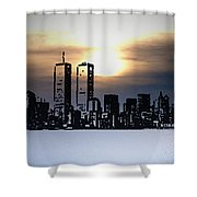 New York City - The Way We Were Shower Curtain