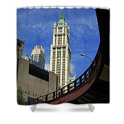 New York City - Woolworth Building Shower Curtain