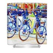 New York Citybike 2 Shower Curtain