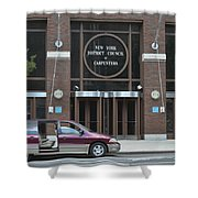New York District Council Of Carpenters Shower Curtain