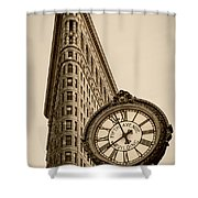New York Flatiron Shower Curtain by Juergen Held