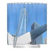 New York Freedom Shower Curtain