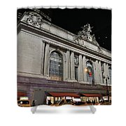 New York Grand Central Station Shower Curtain