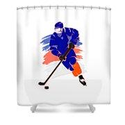 New York Islanders Player Shirt Shower Curtain