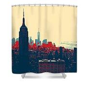 New York Manhattan Shower Curtain