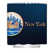 New York Mets Shower Curtain