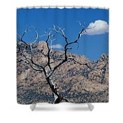 New York Mountains #1 Shower Curtain